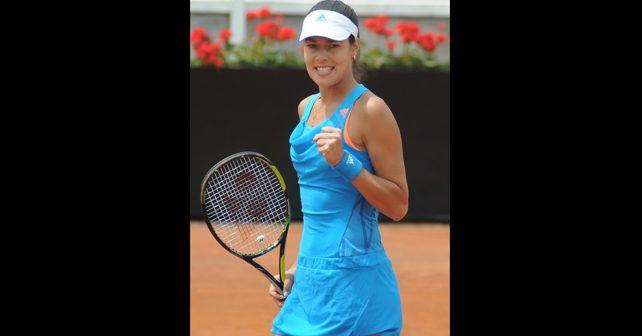Na fotografiji je prikazan sport - tenis: Ana Ivanović