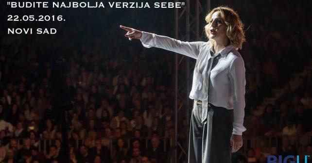 Na fotografiji je prikazan kineziolog, motivaciona govornica: Ana Bučević