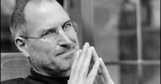 Na fotografiji je prikazan it stručnjak, apple ceo: Stiv Džobs (Steve Jobs)