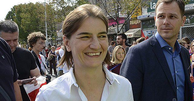 Na fotografiji je prikazan magistar marketinga: Ana Brnabić