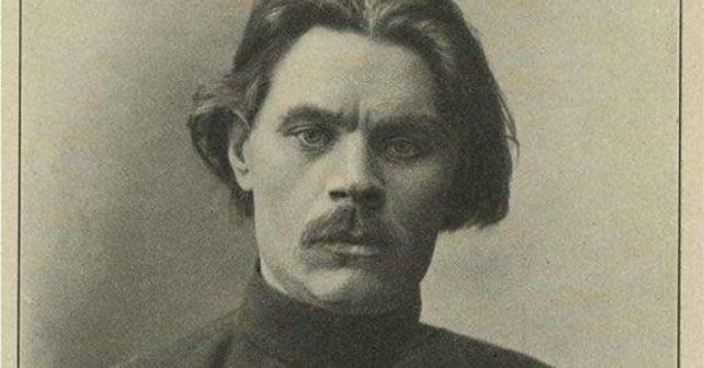 Na fotografiji je prikazan književnik, autor: Maksim Gorki