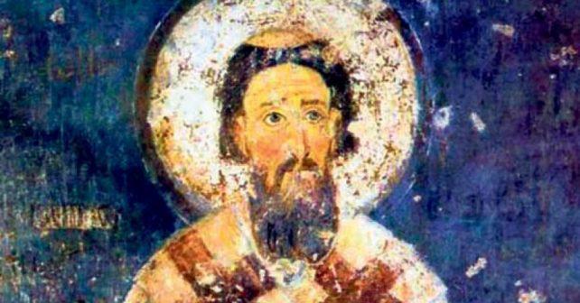 Na fotografiji je prikazan prosvetitelj, arhiepiskop, književnik: Sveti Sava (Rastko Nemanjić)