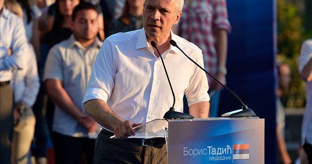 Na fotografiji je prikazan političar, psiholog: Boris Tadić