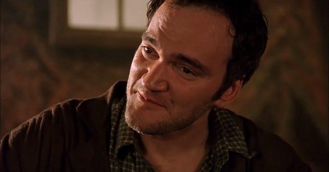 Na fotografiji je prikazan glumac, režiser, producent: Quentin Tarantino