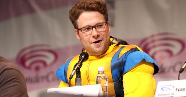 Na fotografiji je prikazan glumac: Seth Rogen