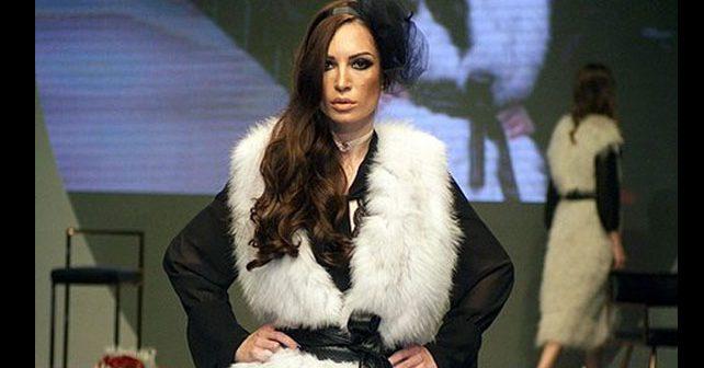 Na fotografiji je prikazan model, starleta, pevačica: Anastasija Buđić