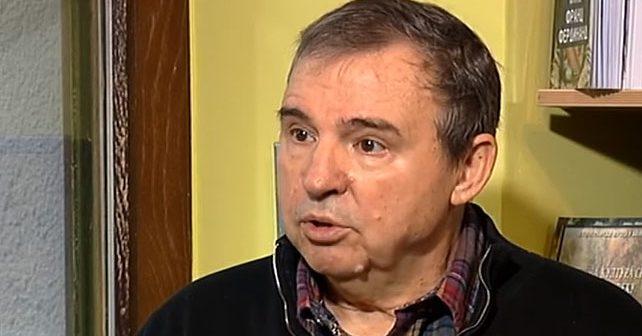 Na fotografiji je prikazan profesor, reditelj, scenarist, pisac: Goran Marković (reditelj)