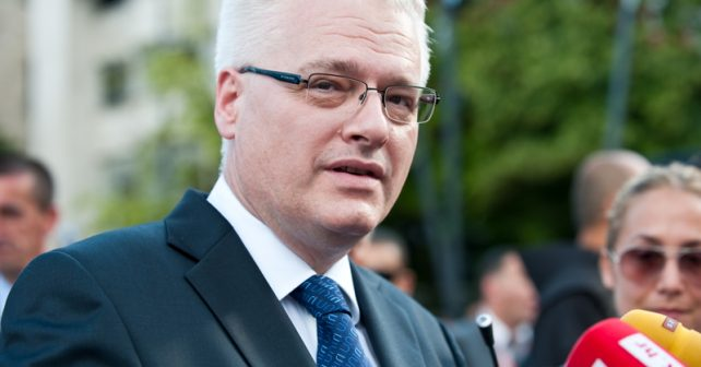Na fotografiji je prikazan političar, pravnik, profesor: Ivo Josipović