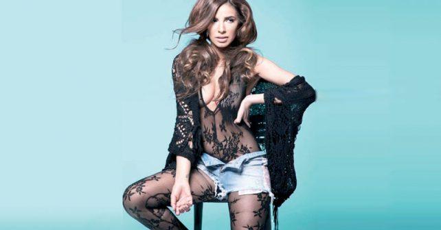 Na fotografiji je prikazan pevačica: Marina Tadić