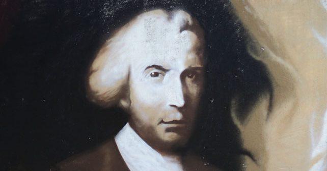 Na fotografiji je prikazan teolog, naučnik, filozof, pesnik: Ruđer Bošković