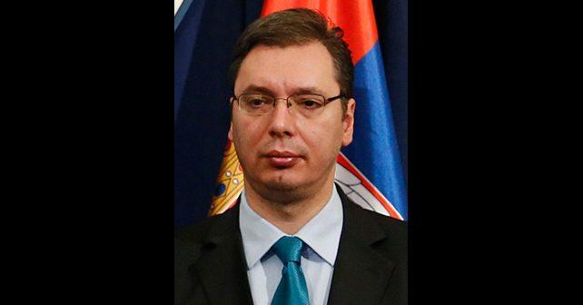Na fotografiji je prikazan političar, predsednik vlade: Aleksandar Vučić
