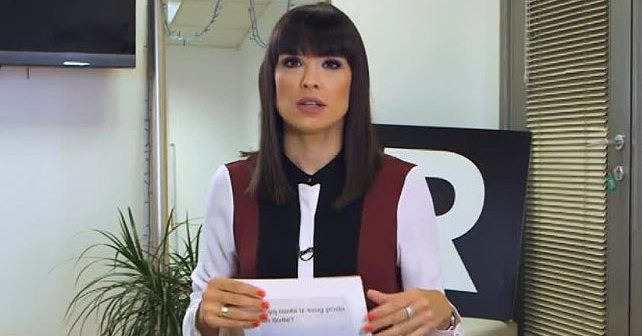 Na fotografiji je prikazan voditeljka: Ana Mitić