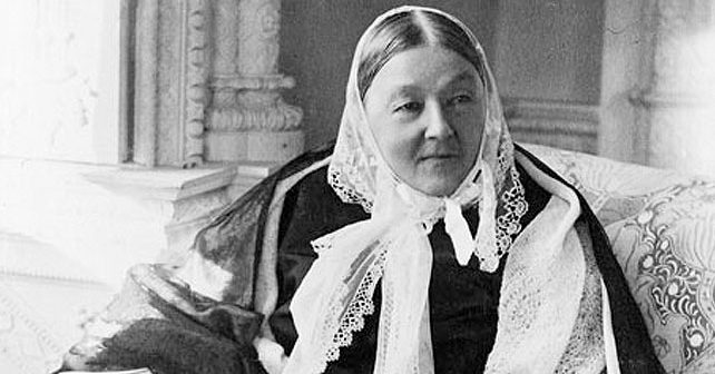 Na fotografiji je prikazan bolničarka, medicinska sestra: Florens Najtingejl (Florence Nightingale)