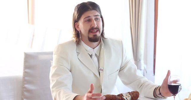 Na fotografiji je prikazan student, politički aktivist: Luka Maksimović (Ljubiša Preletačević Beli)