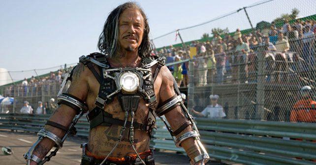 Na fotografiji je prikazan glumac, scenarist: Miki Rurk (Mickey Rourke)