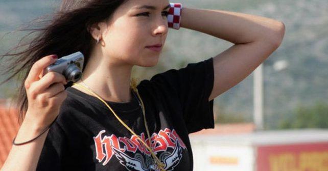 Na fotografiji je prikazan student: Kristina Ćurković