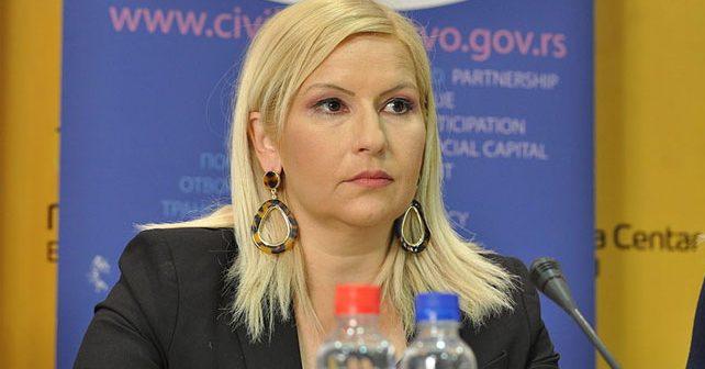 Na fotografiji je prikazan političarka, profesor: Zorana Mihajlović