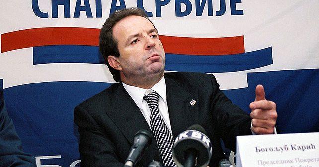 Na fotografiji je prikazan političar, preduzetnik: Bogoljub Karić