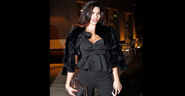 Na fotografiji je prikazan fotomodel, manekenka: Dejana Živković