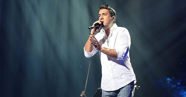 Na fotografiji je prikazan pevač, kompozitor: Željko Joksimović