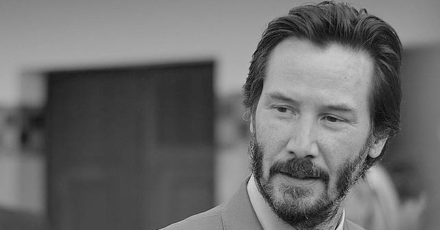 Na fotografiji je prikazan glumac, režiser, producent: Kijanu Rivs (Keanu Reeves)