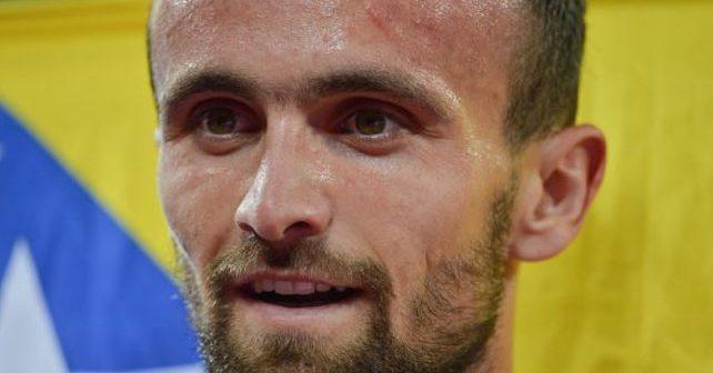 Na fotografiji je prikazan atletičar, sportist: Amel Tuka