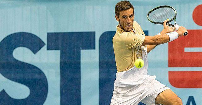 Na fotografiji je prikazan teniser: Damir Džumhur