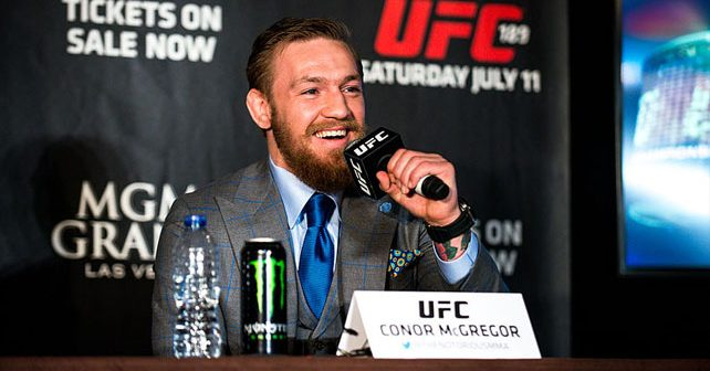 Na fotografiji je prikazan mma borac, bokser, sportist: Konor Mekgregor (Conor McGregor)