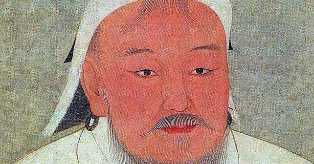 Na fotografiji je prikazan vladar, vojskovođa, ratnik: Džingis Kan