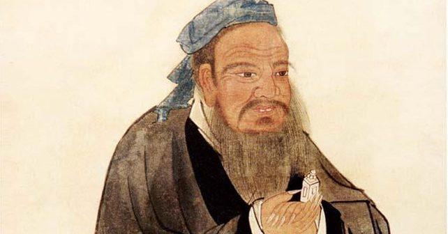 Na fotografiji je prikazan filozof: Konfučije