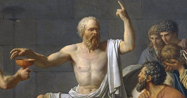 Na fotografiji je prikazan filozof: Sokrat