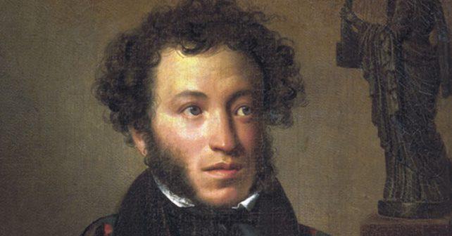 Na fotografiji je prikazan književnik, dramaturg: Aleksandar Sergejevič Puškin