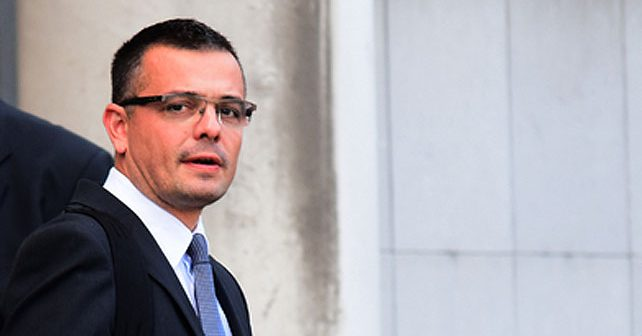 Na fotografiji je prikazan političar, pravnik: Branislav Nedimović