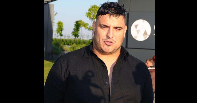 Na fotografiji je prikazan pevač: Darko Lazić