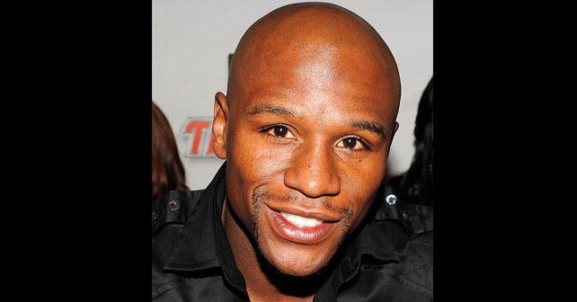Na fotografiji je prikazan bokser: Flojd Mejveder ml. (Floyd Mayweather Jr.)