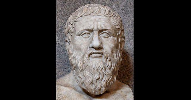 Na fotografiji je prikazan filozof: Platon