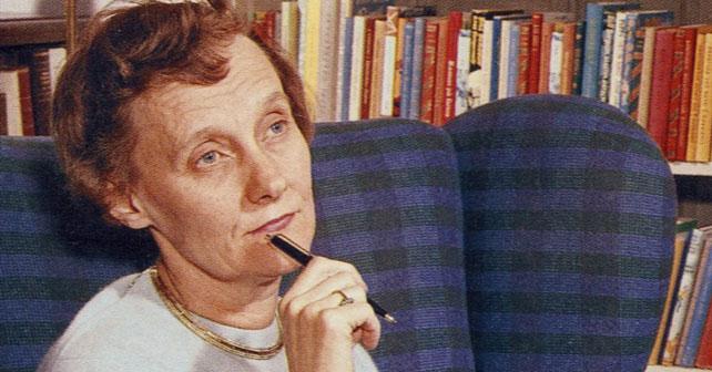Na fotografiji je prikazan književnica, pisac: Astrid Lindgren