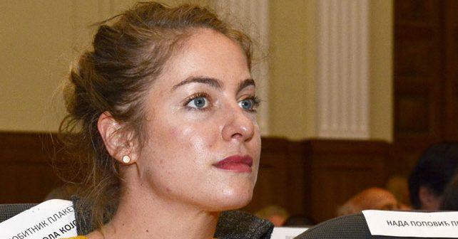 Na fotografiji je prikazan glumica: Hristina Popović