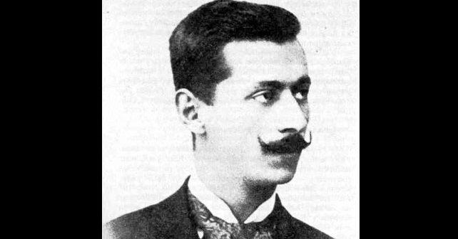 Na fotografiji je prikazan književnik, diplomata: Jovan Dučić