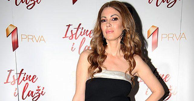 Na fotografiji je prikazan glumica: Lena Bogdanović