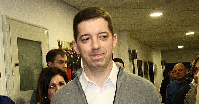 Na fotografiji je prikazan političar, pravnik: Marko Đurić