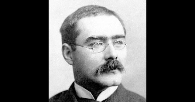 Na fotografiji je prikazan književnik: Radjard Kipling