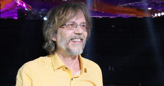 Na fotografiji je prikazan glumac, muzičar: Srđan Žika Todorović