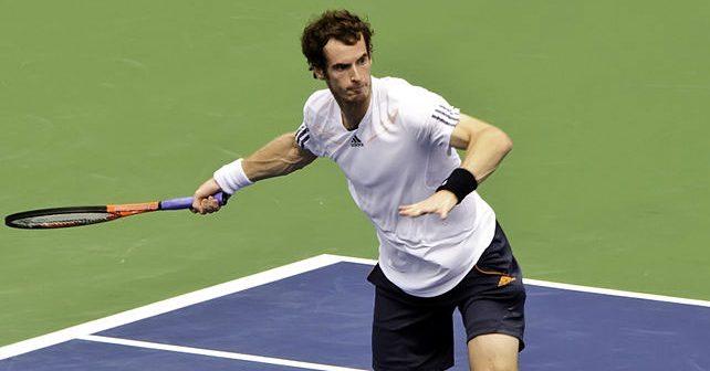 Na fotografiji je prikazan teniser: Andy Murray (Endi Mari)