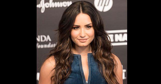 Na fotografiji je prikazan pevačica, glumica: Demi Lovato