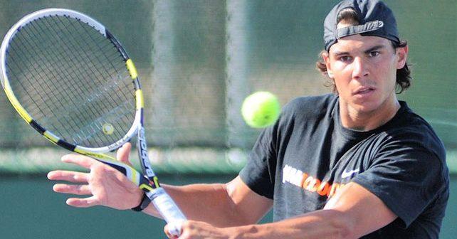 Na fotografiji je prikazan teniser: Rafael Nadal