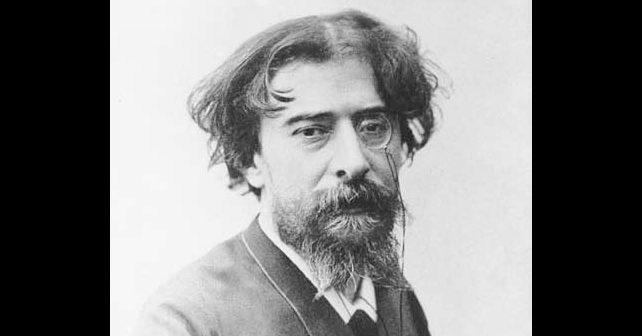Na fotografiji je prikazan književnik: Alfons Dode (Alphonse Daudet)
