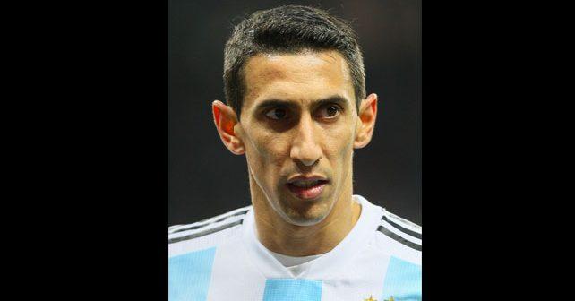 Na fotografiji je prikazan fudbaler: Anhel Di Marija