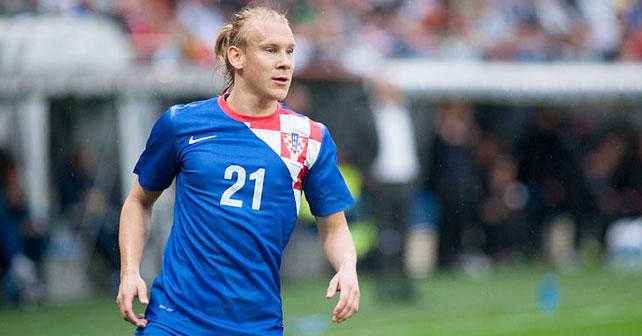 Na fotografiji je prikazan fudbaler: Domagoj Vida