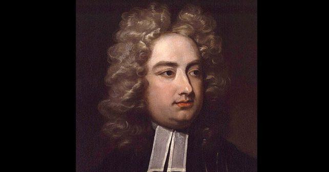 Na fotografiji je prikazan književnik, političar: Džonatan Svift (Jonathan Swift)